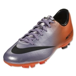 Nike Mercurial Victory IV FG Junior (Metallic Mach Purple/Black/Total Orange)