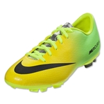Nike Junior Mercurial Victory IV FG (Vibrant Yellow)