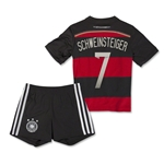 Germany 2014 SCHWEINSTEIGER Away Mini Kit