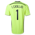 Spain 2014 I. CASILLAS Away Keeper Soccer Jersey