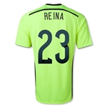 Spain 2014 REINA Away Keeper Soccer Jersey