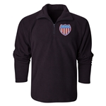 USA Patriot Crest 1/4 Fleece Pullover