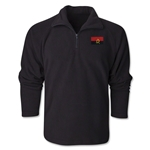 Angola Flag 1/4 Fleece Pullover