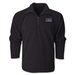 Azerbaijan Flag 1/4 Fleece Pullover