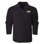 Comoros Flag 1/4 Fleece Pullover