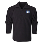 Guatemala Flag 1/4 Fleece Pullover