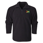 Guyana Flag 1/4 Fleece Pullover