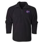 Iceland Flag 1/4 Fleece Pullover