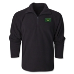 Mauritania Flag 1/4 Fleece Pullover