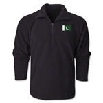 Pakistan Flag 1/4 Fleece Pullover