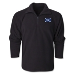 Scotland Flag 1/4 Fleece Pullover