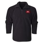 Tunisia Flag 1/4 Fleece Pullover
