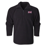 United Kingdom Flag 1/4 Fleece Pullover
