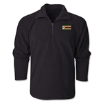 Zimbabwe Flag 1/4 Fleece Pullover