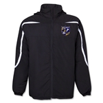 West Virginia University Rugby All Weather Storm Jacket (Black)