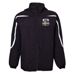 Sweden Flag Crest All Weather Storm Jacket