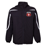 Switzerland Flag Crest All Weather Storm Jacket