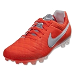 Nike Tiempo Legend V AG (Total Crimson/White/Metallic Silver)