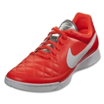 Nike Tiempo Genio Leather IC (Total Crimson)
