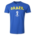 Brazil 2014 FIFA World Cup T-Shirt
