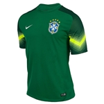 Brazil 2014 Away Goalkeeper Soccer Jersey