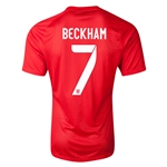 England 14/15 BECKHAM Authentic Away Soccer Jersey