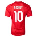 England 2014 ROONEY Authentic Away Soccer Jersey