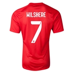 England 14/15 WILSHERE Authentic Away Soccer Jersey