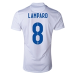 England 14/15 LAMPARD Authentic Home Soccer Jersey