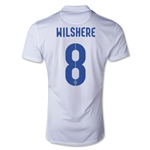 England 14/15 WILSHERE Authentic Home Soccer Jersey