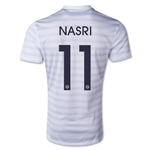 France 2014 NASRI Away Soccer Jersey