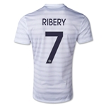 France 2014 RIBERY Away Soccer Jersey