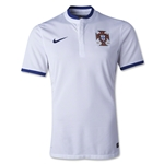 Portugal 2014 Authentic Away Soccer Jersey