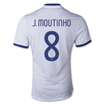 Portugal 2014 J. MOUTINHO Authentic Away Soccer Jersey