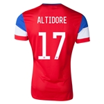 USA 14/15 ALTIDORE Away Soccer Jersey