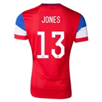USA 2014 JONES Away Soccer Jersey