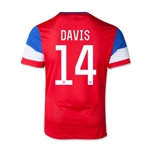 USA 14/15 DAVIS Youth Away Soccer Jersey