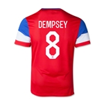 USA 14/15 DEMPSEY Youth Away Soccer Jersey