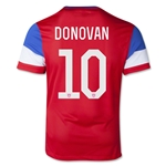 USA 2014 DONOVAN Youth Away Soccer Jersey