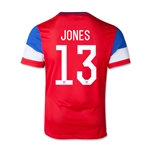 USA 14/15 JONES Youth Away Soccer Jersey