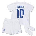England 14/15 ROONEY Little Boys Home Soccer Kit