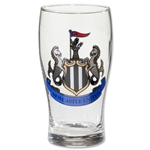 Newcastle United Crest Pint Glass