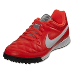 Nike Junior Tiempo Genio Leather TF (Total Crimson)