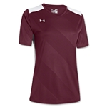 Under Armour Women's Fixture Jersey (Maroon/Wht)