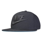 Nike CR7 True Flat Bill Snapback (Black)