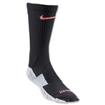 Nike Stadium Soccer Crew Sock (Blk/Orange)