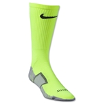 Nike Stadium Soccer Crew Sock (Lime/Black)
