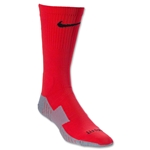 Nike Stadium Soccer Crew Sock (Red)