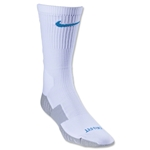 Nike Stadium Soccer Crew Sock (White/Blue)