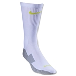 Nike Stadium Soccer Crew Sock (White/Lime)